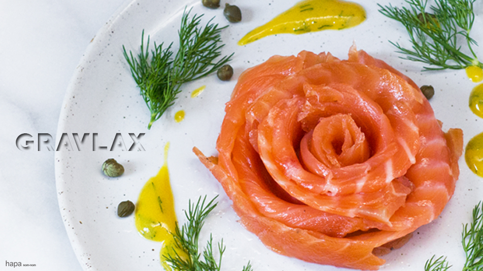 cured salmon fillet with dill salmon gravlax breakfast tassal ...