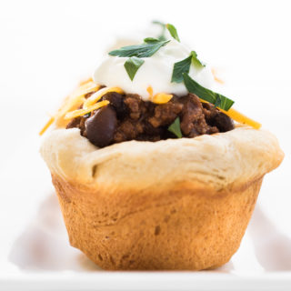 Buttermilk Biscuit Chili Cups - Always a BIG hit!
