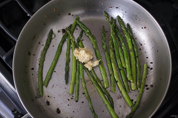 Add Butter To Asparagus