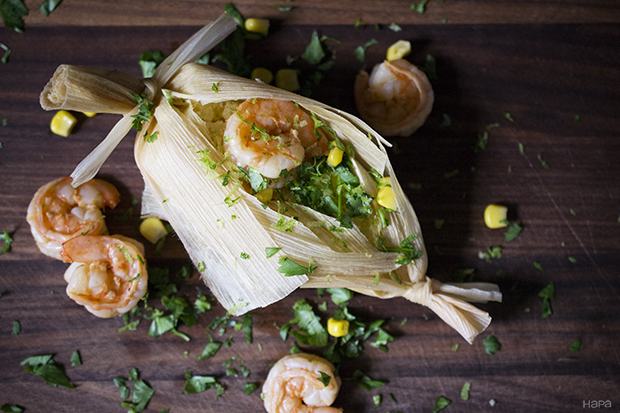 Shrimp and Corn Tamales with Miso Butter - Hapa Nom NomHapa Nom Nom