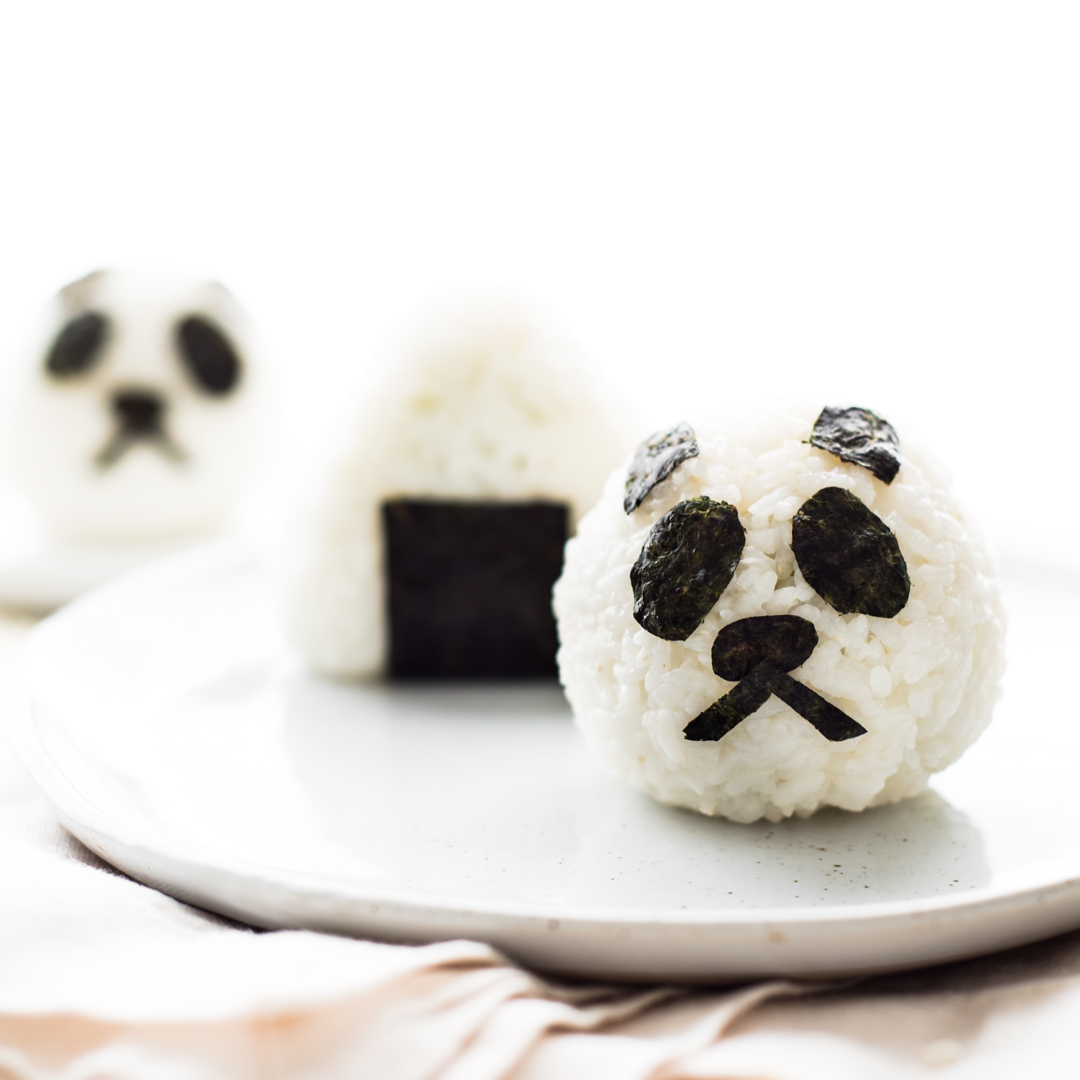 Avocado Lox Onigiri Japanese Rice Balls
