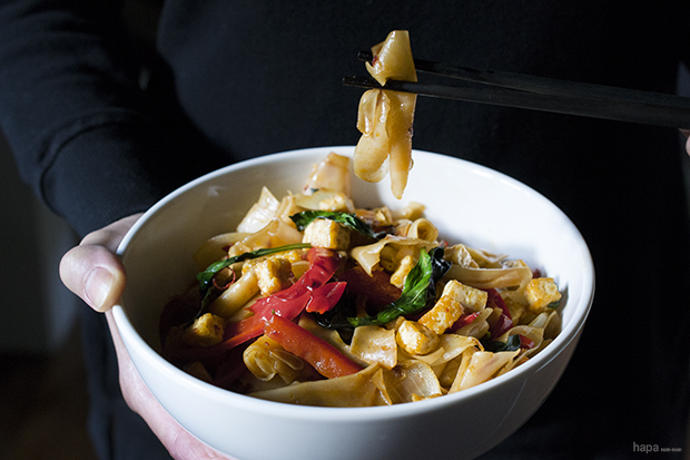 Drunken Noodles - Recipe Banner
