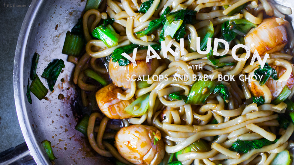 Scallops and Udon Banner1
