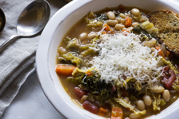 Tuscan Soup Recipe Banner