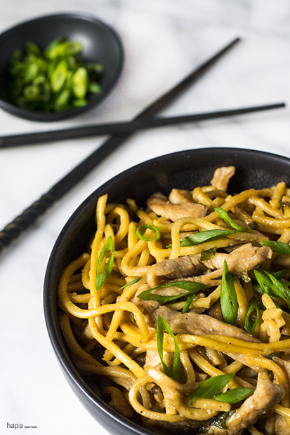 Pork Lo Mein Pin