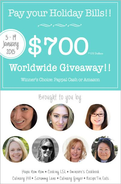 Giveaway - with the ladies