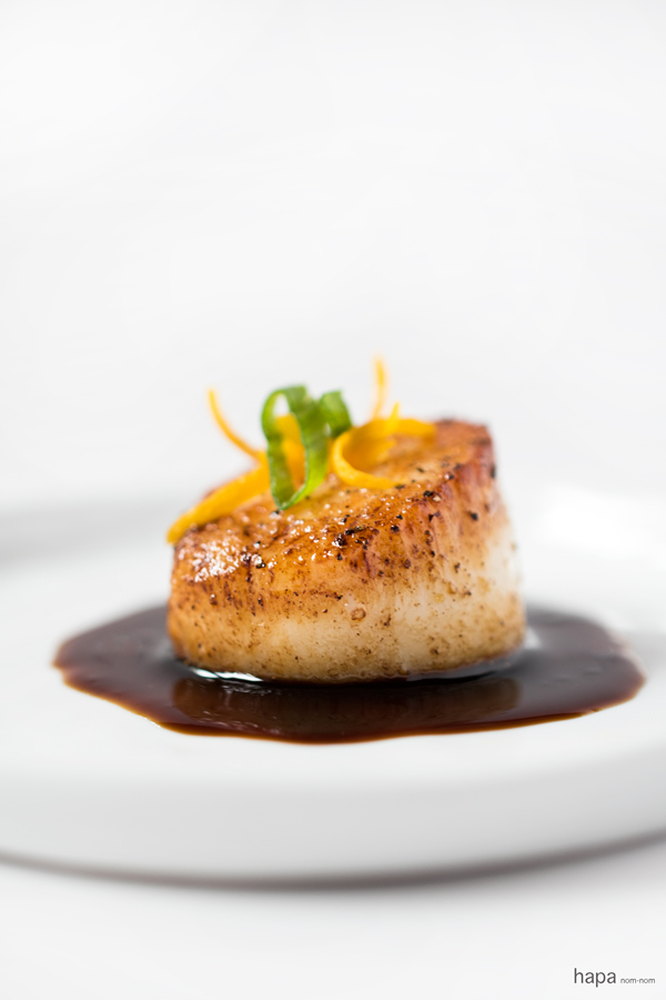 Have these elegant Orange-Soy Glazed Scallops on the table in just 15 minutes!