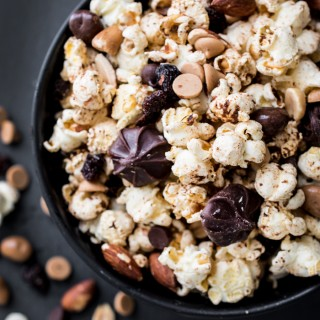 Spiced Popcorn Trail Mix