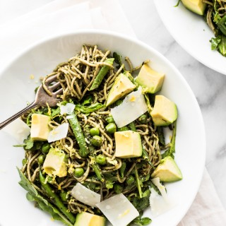 This delicious soba noodle salad with a walnut pesto packs in the nutrients and leaves you feeling satisfied.
