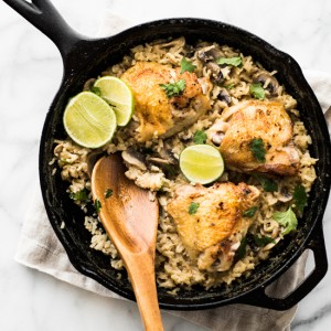Thai Chicken and Rice - Classic Thai Flavors, Simple Prep! Great for Weeknight Dinners!