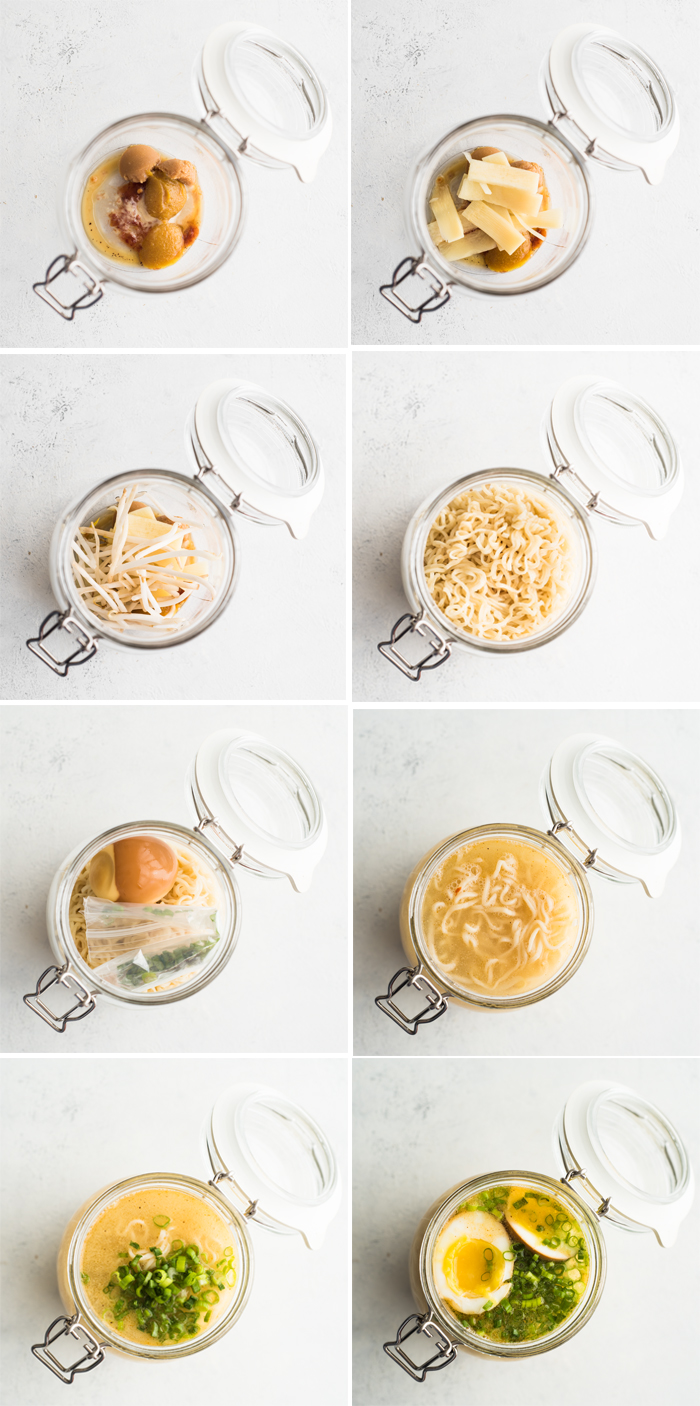 Be the envy of the office with this Take-to-Work Mason Jar Ramen!